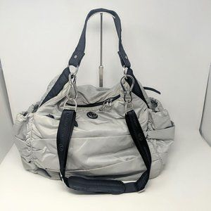 Lululemon Silver Fast in Flight Bag